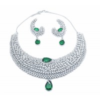 Wedding Marquise Necklace Set